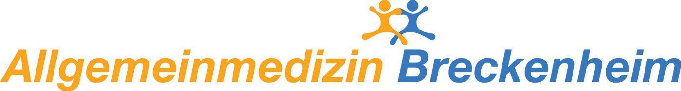 """Logo-Schriftzug """"Allgemeinmedizin Breckenheim""""."""